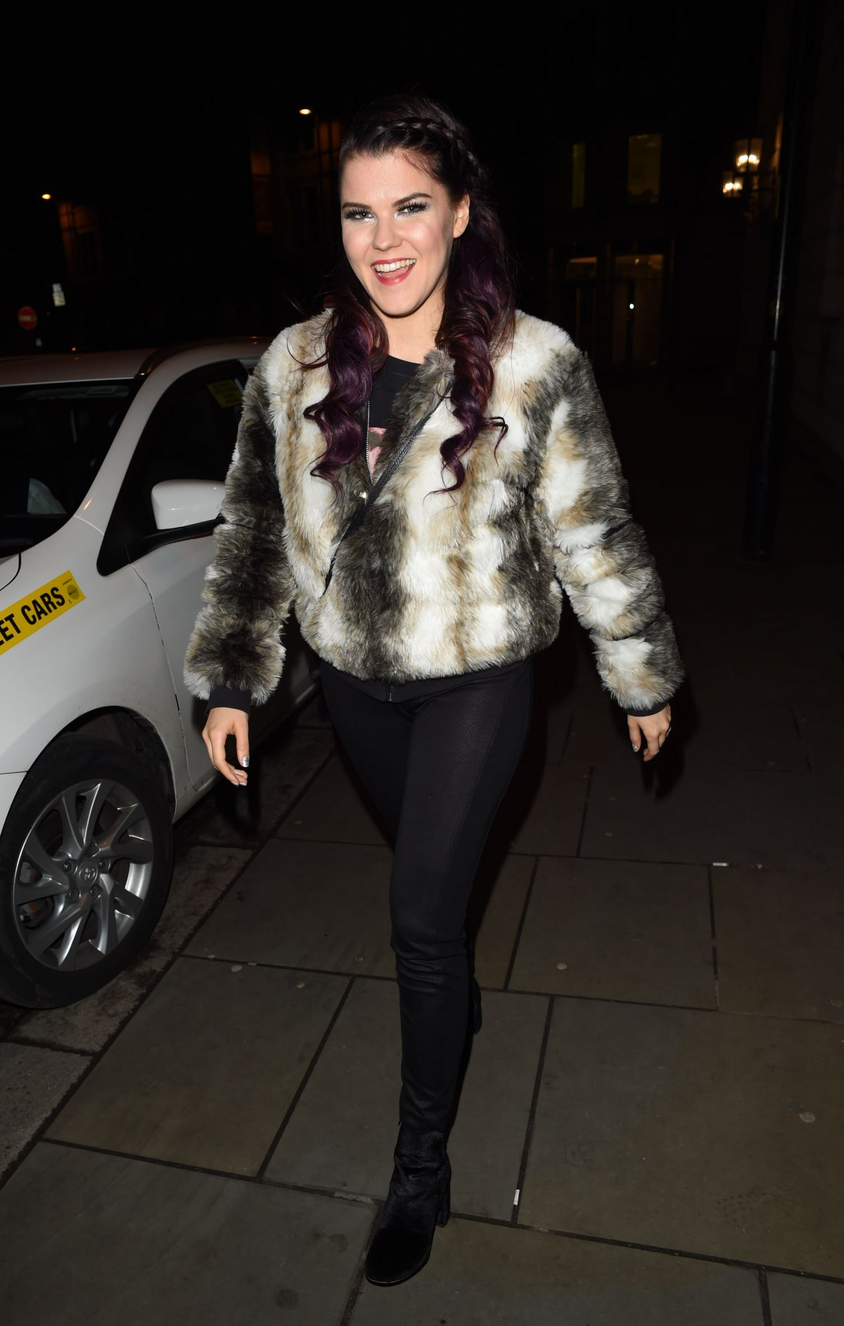 SAARA AALTO at Rosso Restaurant in Manchester 03/04/2017