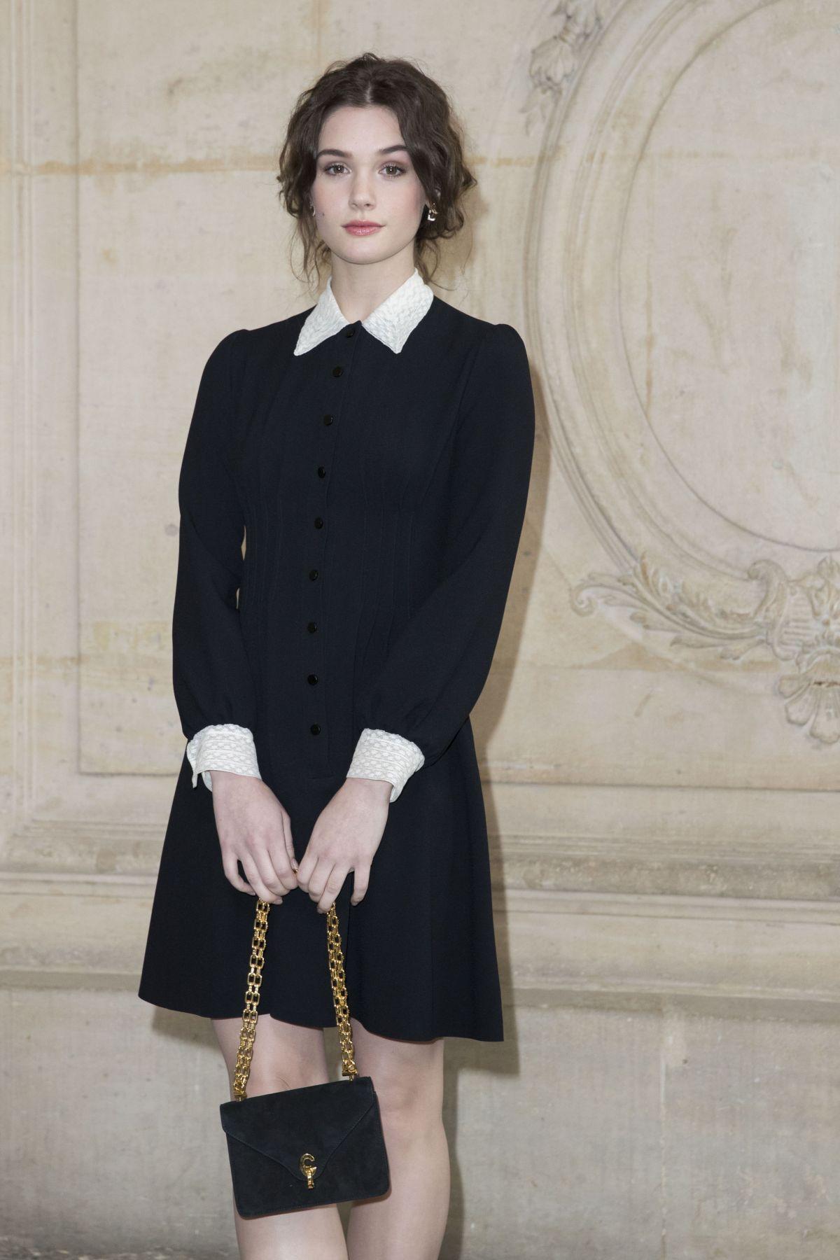 SAI BENNETT at Christian Dior Fashion Show in Paris 03/03/2017