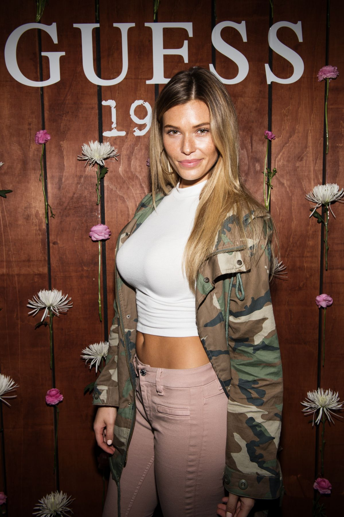 SAMANTHA HOOPES at Guess 1981 Fragrance Launch in Los Angeles 03/21/2017