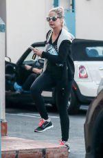 SARAH MICHELLE GELLAR Heading to Pilates Class in Santa Monica 03/05/2017