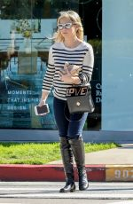 SARAH MICHELLE GELLAR Leaves a Hair Salon in West Hollywood 02/28/2017