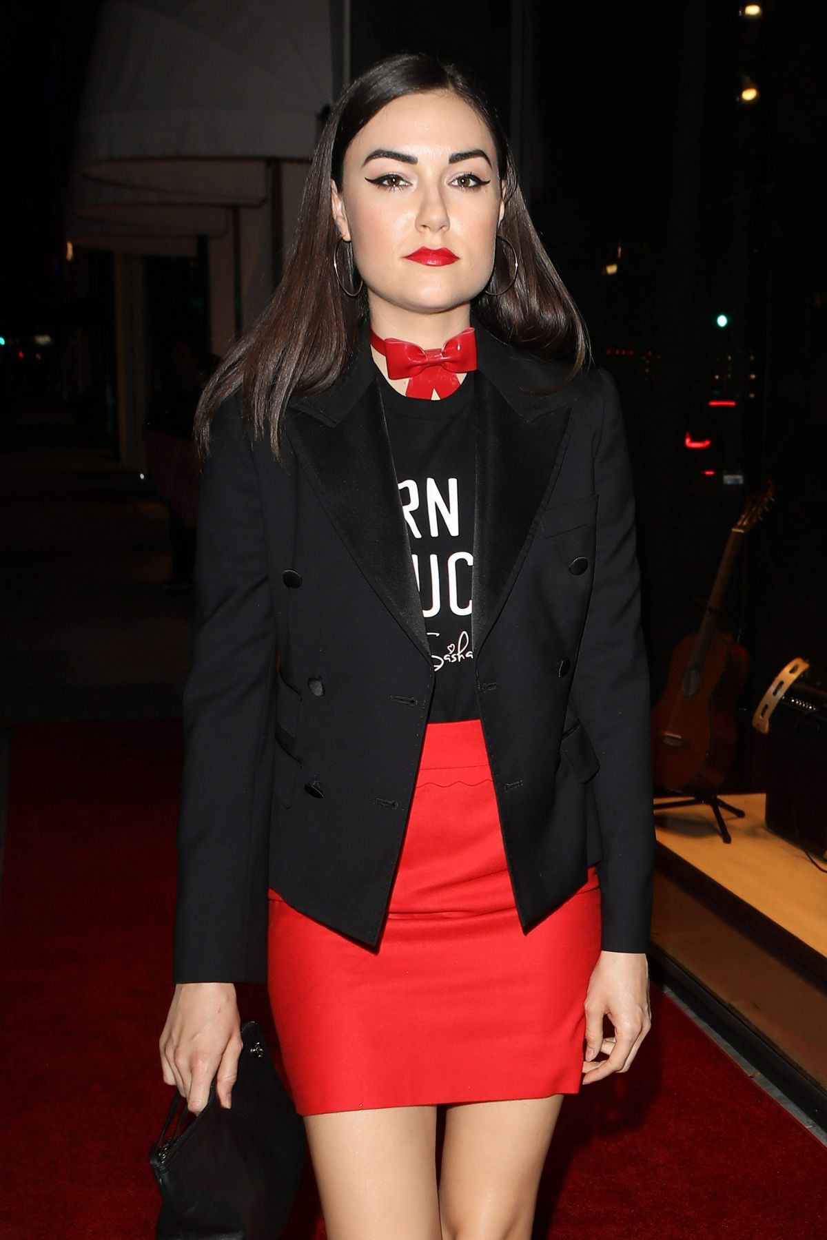 SASHA GREY at Dolce & Gabbana New Vision and Millennials Party in Los Angeles 03/23/2017