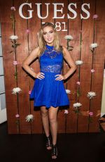 SAXON SHARBINO at Guess 1981 Fragrance Launch in Los Angeles 03/21/2017