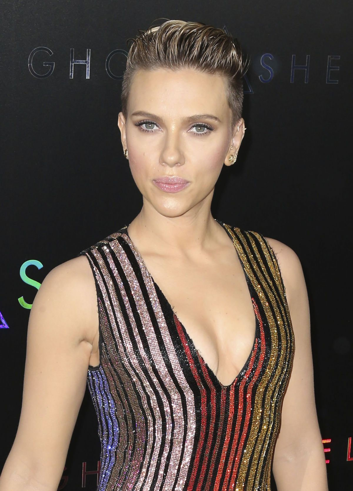 Scarlett Johansson At Ghost In The Shell Premiere In New York 03 29 2017 1 Hawtcelebs
