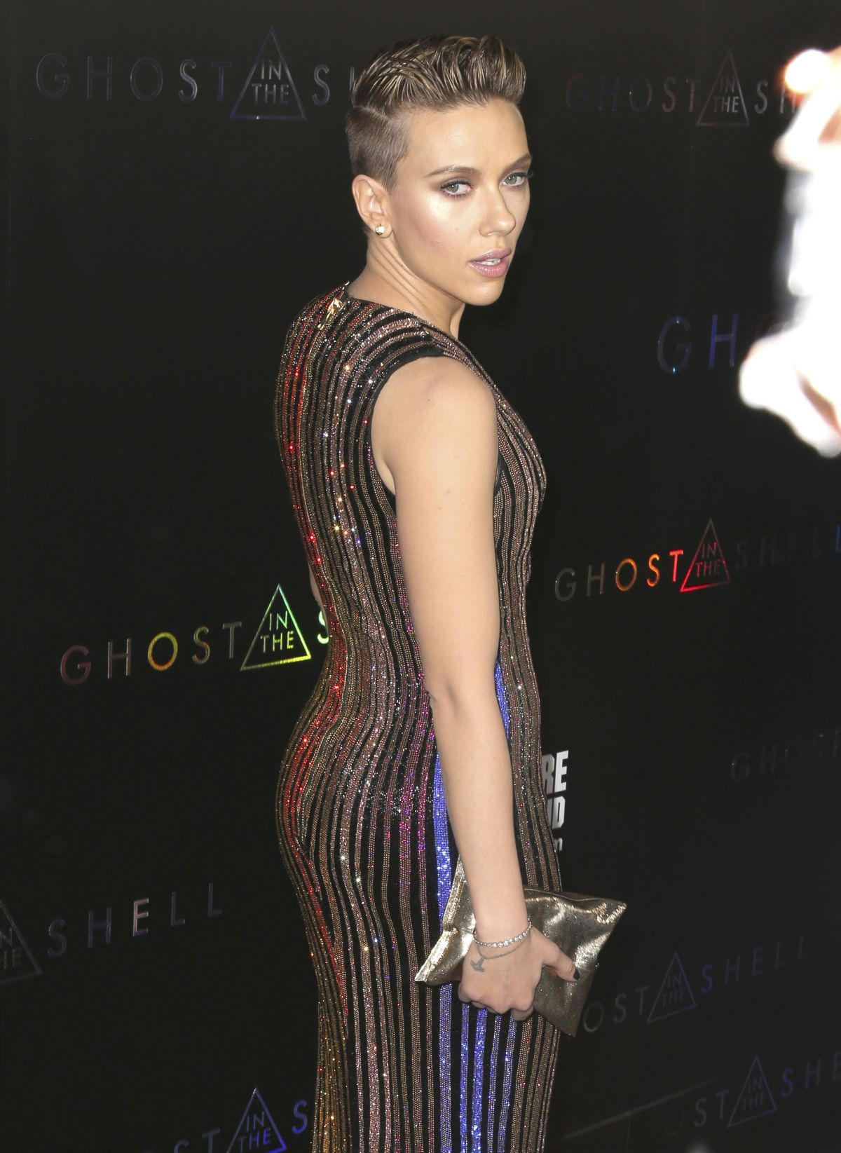 Scarlett Johansson At Ghost In The Shell Premiere In New York 03 29 2017 2 Hawtcelebs