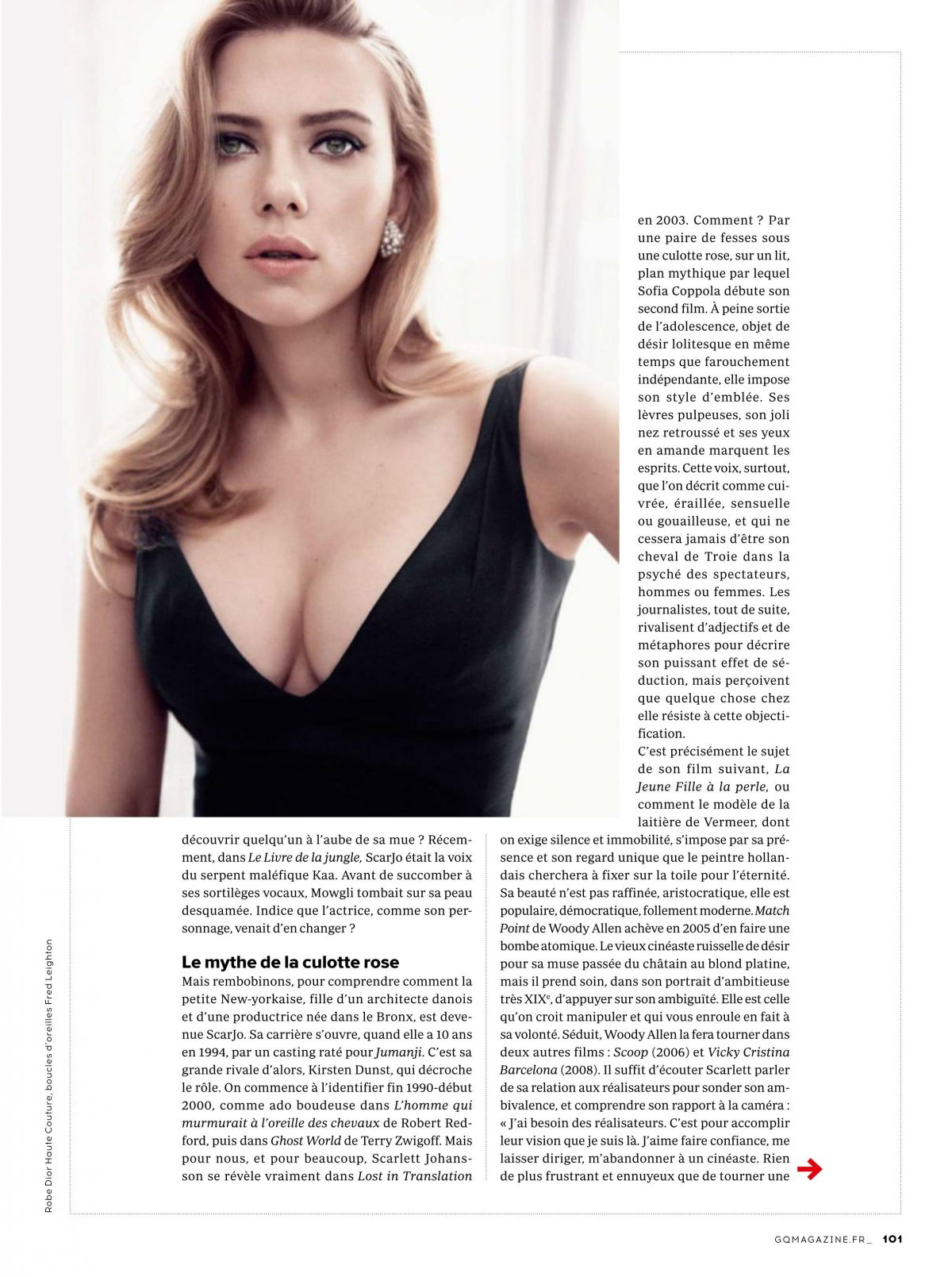 Très SCARLETT JOHANSSON in GQ Magazine, France March 2017 - HawtCelebs  BZ06