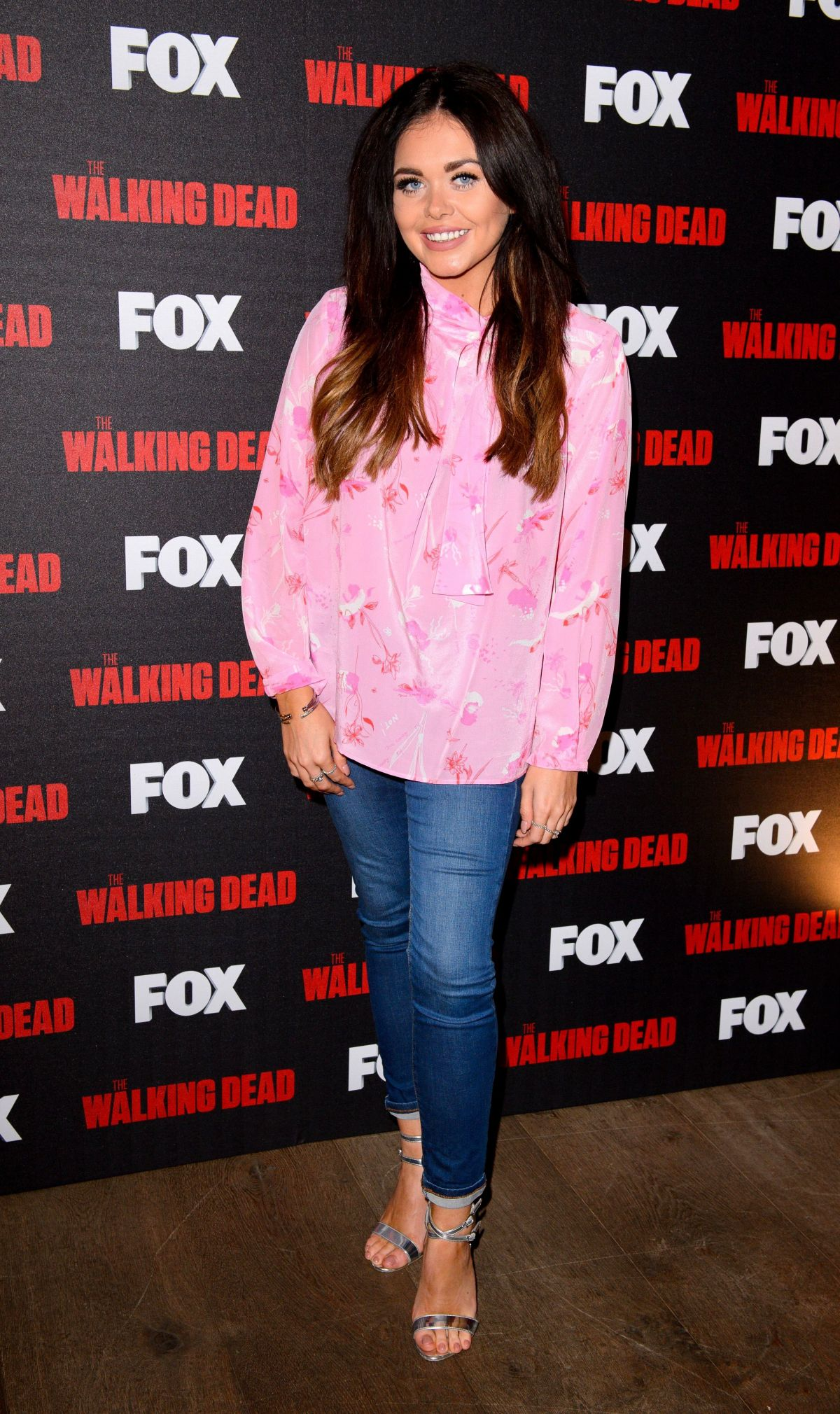 SCARLETT MOFFATT at A night with The Walking Dead Screening in London 03/03/2017