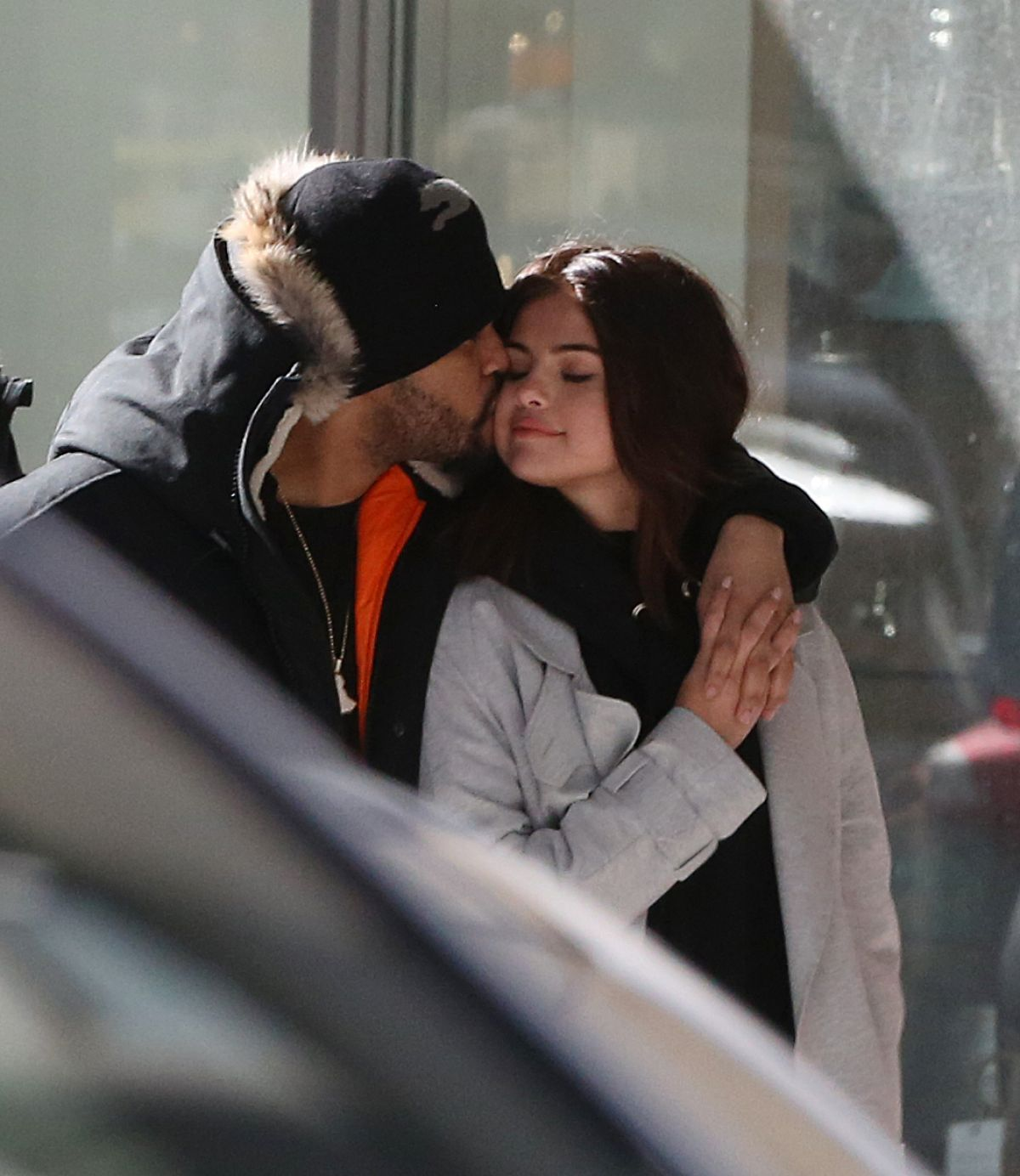 SELENA GOMEZ and The Weeknd Out at Bloor Street in Toronto 03/16/2017