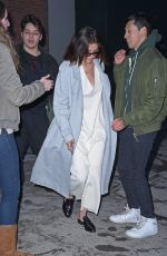 SELENA GOMEZ Night Out in New York 03/17/2017