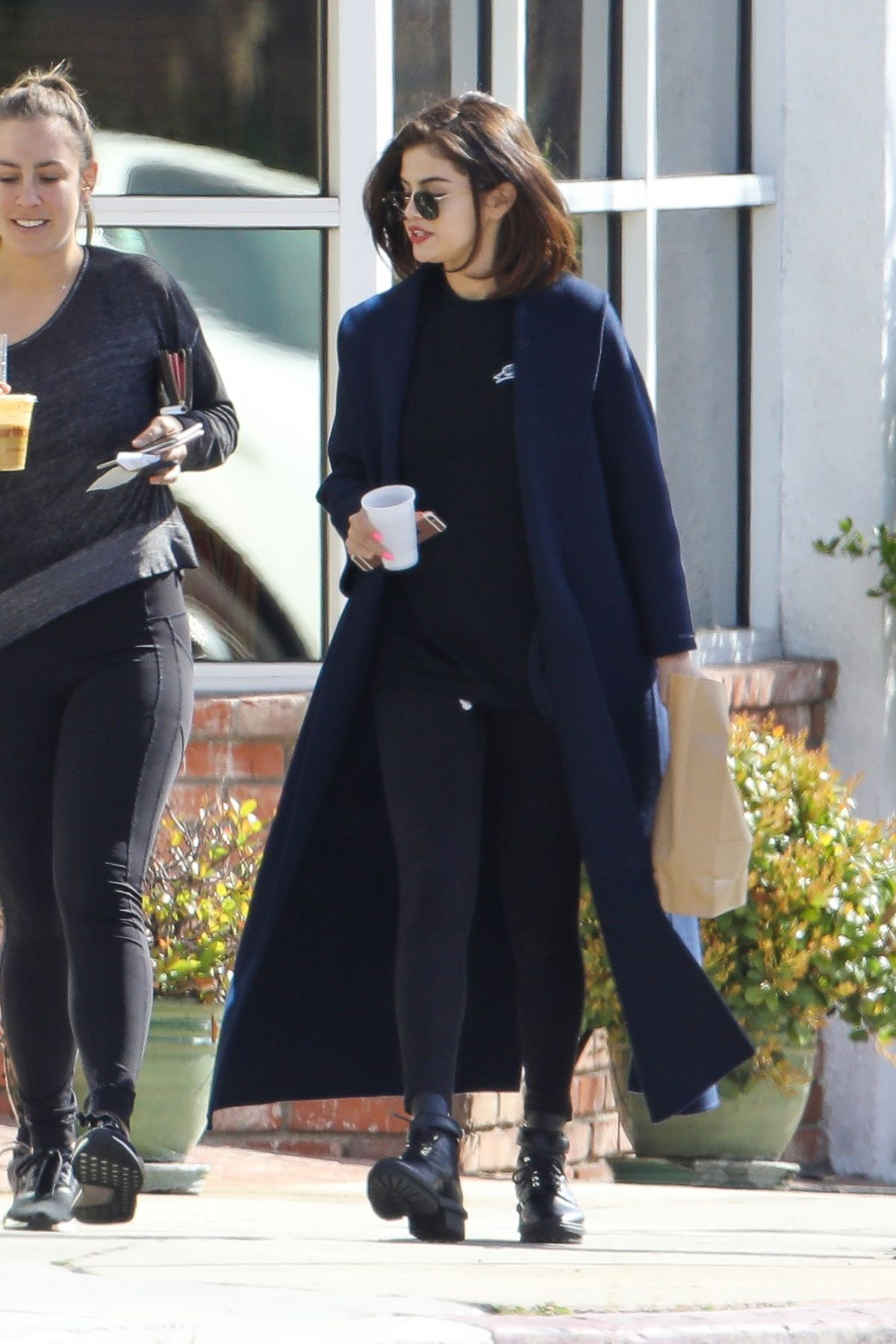 SELENA GOMEZ Out and About in Los Angeles 03/07/2017