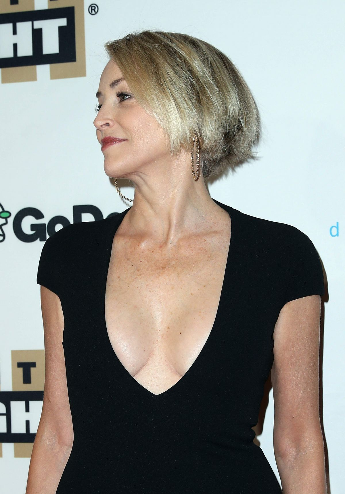SHARON STONE at Muhammad Alis Celebrity Fight Night in - Hairstyles For 2015