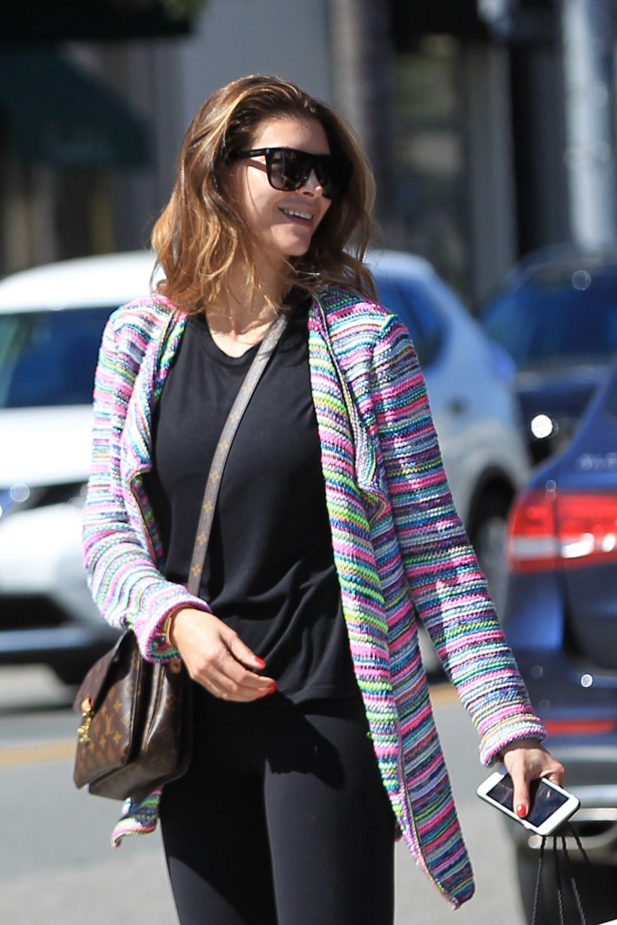 SHIVA SAFAI Out Shopping in Beverly Hills 03/06/2017
