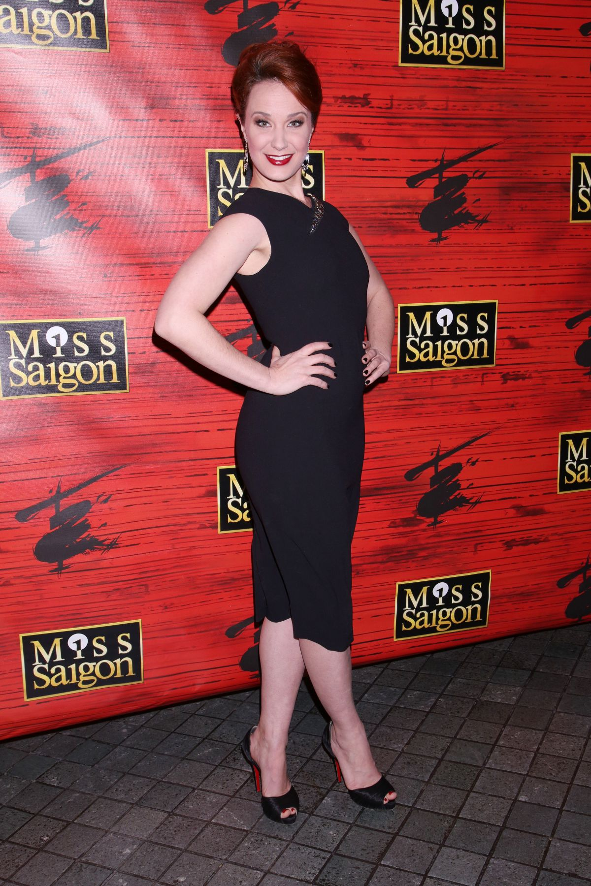 SIERRA BOGGESS at Miss Saigon Broadway Opening Night Party in New York 03/23/2017