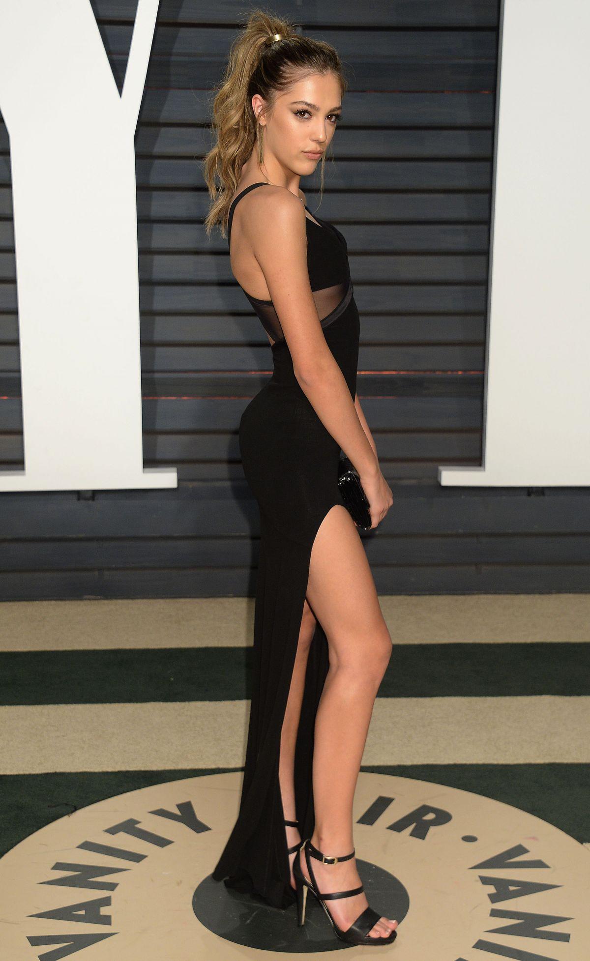 Sistine Rose Stallone Vanity Fair Oscar Party Beverly Hills Demi Lovato