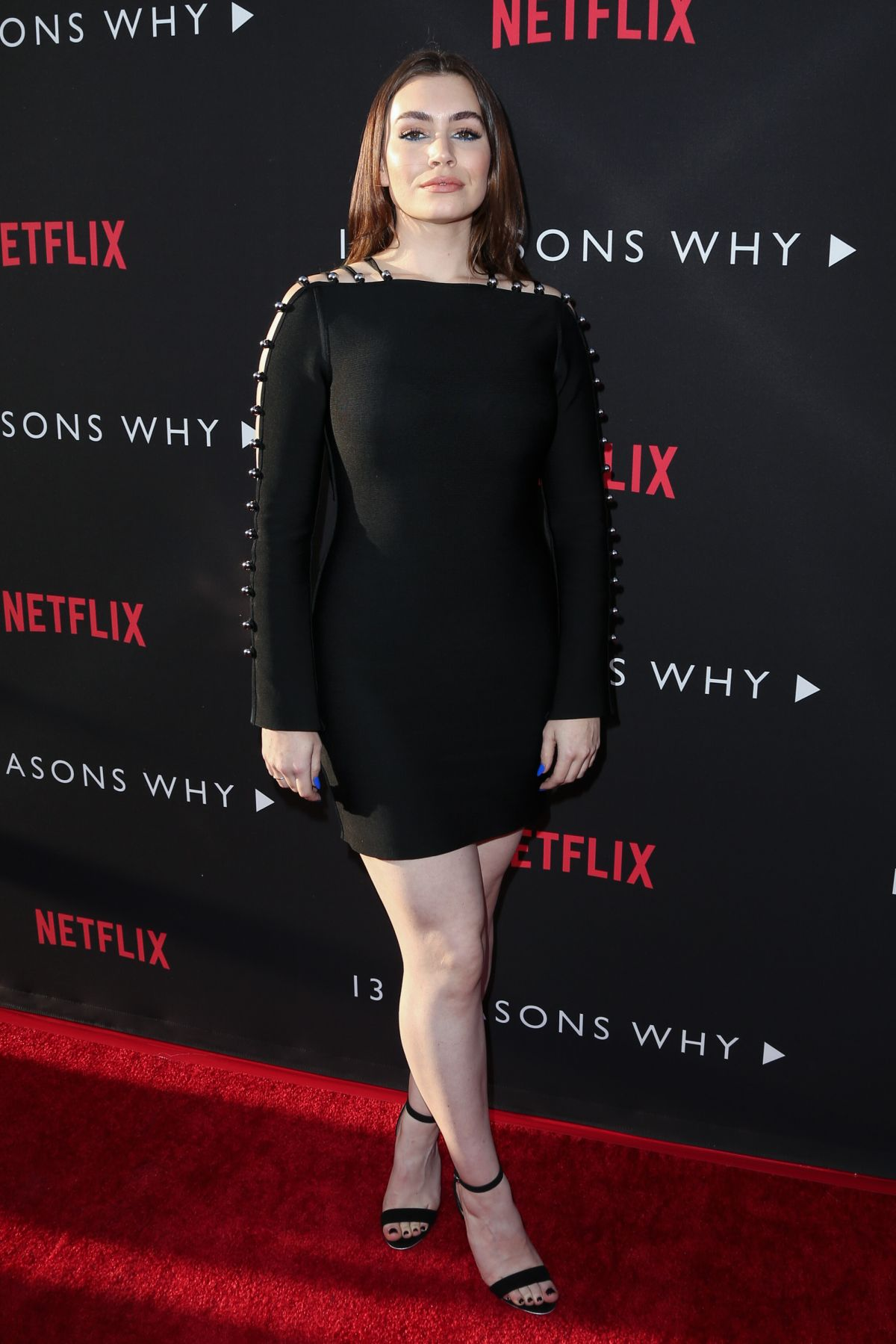 SOPHIE SIMMONS at 13 Reasons Why Premiere in Los Angeles 03/30/2017