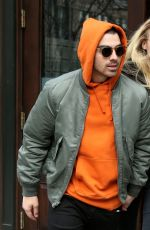 SOPHIE TURNER and Joe Jonas Leaves Greenwich Hotel in New York 03/03/2017