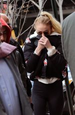 SOPHIE TURNER Out in New York 03/04/2017