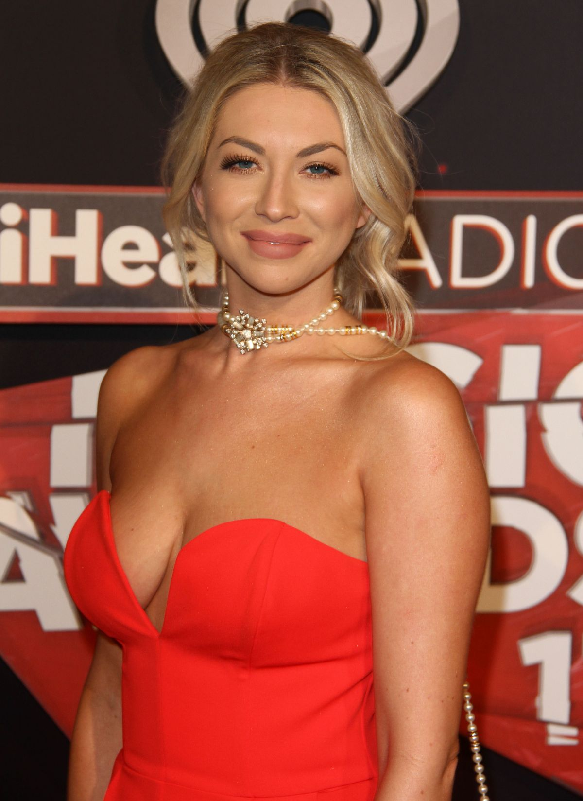 STASSI SCHROEDER at 2017 iHeartRadio Music Awards in Los Angeles 03/05/2017