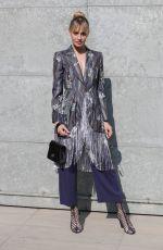SVEVA ALVITI Arrives at Armani Fashion Show in Milan 02/27/2017