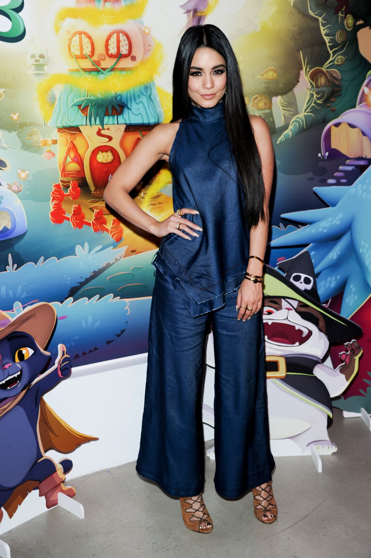 VANESSA HUDGENS at Bubble Witch 3 Saga Event in New York 03/22 ...