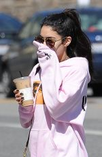 VANESSA HUDGENS Out and About in Los Angeles 03/29/2017