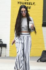 VANESSA HUDGENS Out for Coffee in Los ANgeles 03/20/2017