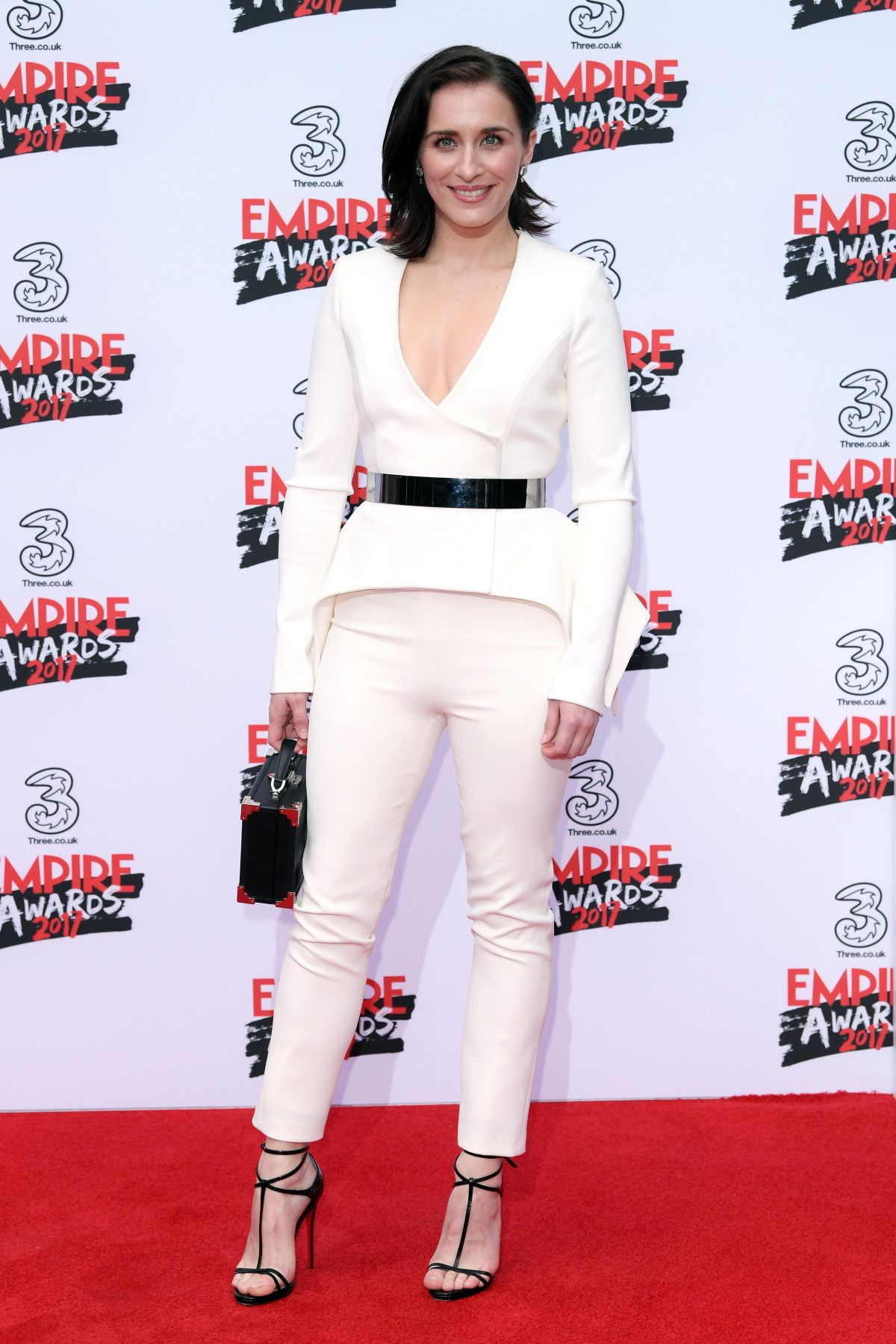 VICKY MCCLURE at Three Empire Awards in London 03/19/2017