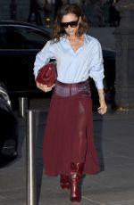 VICTORIA BECKHAM Arrives at Her Hotel in Paris 03/10/2017