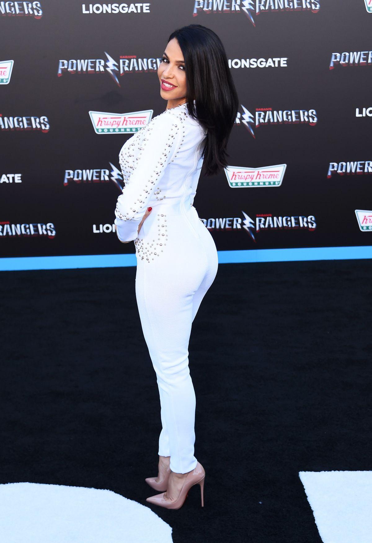 VIDA GUERRA at Power Rangers Premiere in Los Angeles 03/22 ...