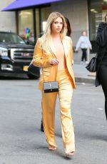 ASHLEY BENSON Out in New York 04/17/2017