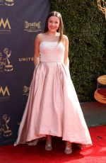 ADDISON HOLLEY at 44th Annual Daytime Creative Arts Emmy Awards in Pasadena 04/28/2017
