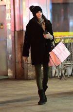 ADRIANA LIMA Out Shopping on 5th Avenue in New York 03/31/2017