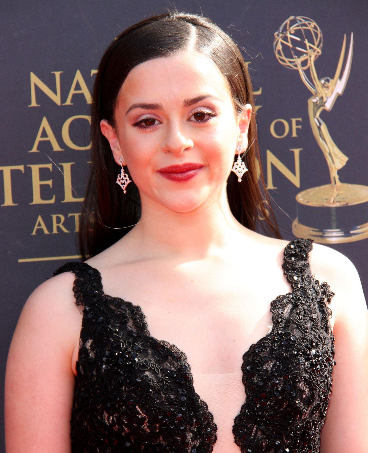 ADRIANNA DI LIELLO at 44th Annual Daytime Creative Arts Emmy Awards in Pasadena 04/28/2017