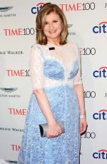 ADRIANNA HUFFINGTON at 2017 Time 100 Gala in New York 04/25/2017