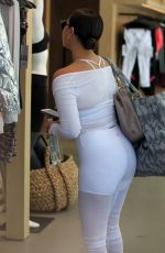 ADRIENNE BAILON in Tights at a Yoga Studio in Beverly Hills 03/31/2017