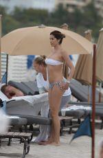 AIDA YESPICA in Bikini on the Beach in Miami 04/22/2017