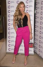 AISLEYNE HORGAN WALLACE at Jog on to Cancer Fundraiser in London 04/12/2017