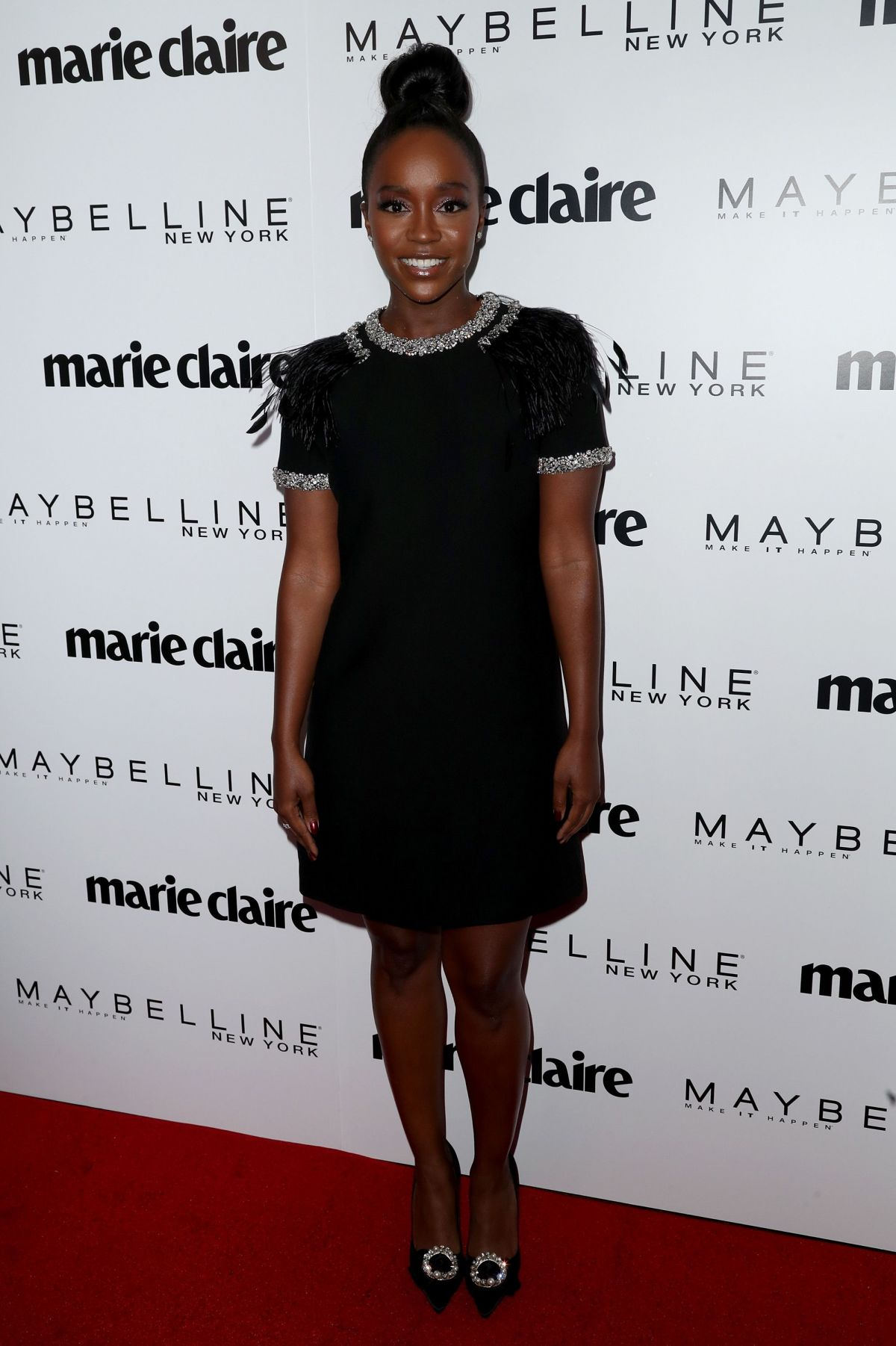 AJA NAOMI KING at Marie Claire Celebrates Fresh Faces in Los Angeles 04/21/2017