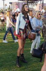 ALESSANDRA AMBROSIO at Coachella Music and Arts Festival in Indio 04/14/2017