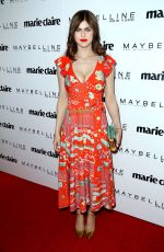 ALEXANDRA DADDARIO at Marie Claire Celebrates Fresh Faces in Los Angeles 04/21/2017