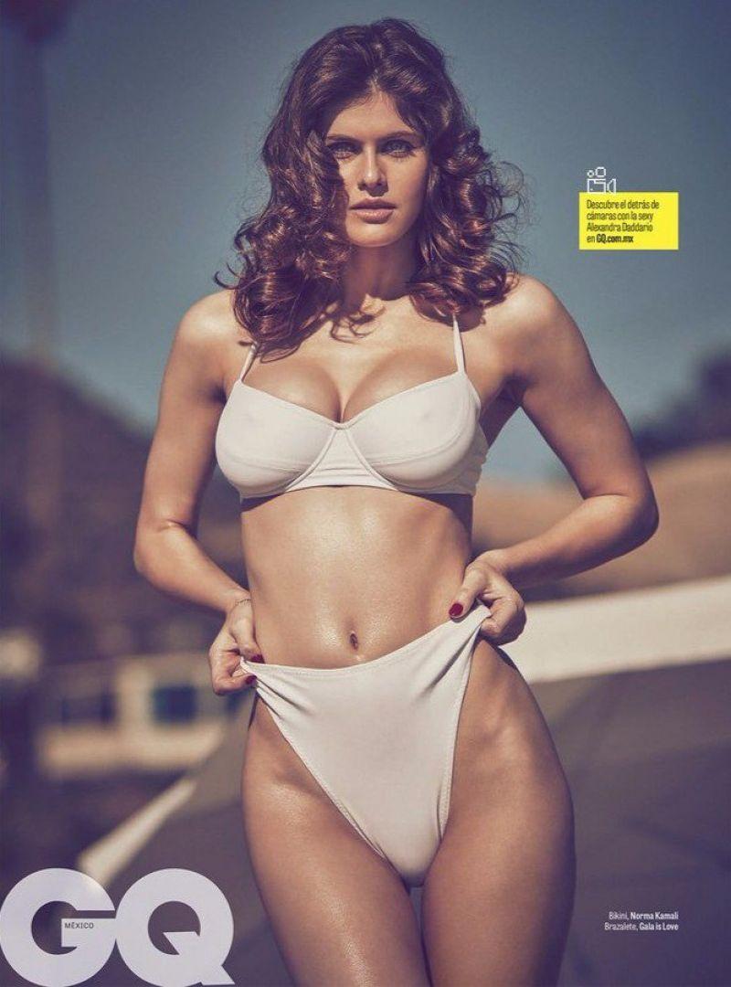 ALEXANDRA DADDARIO in GQ Magazine, Mexico April 2017
