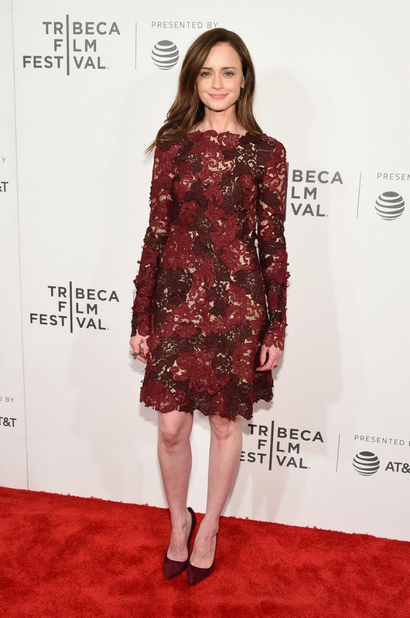 ALEXIS BLEDEL at The Handmaid's Tale Premiere at 2017 Tribeca Film Festival in New York 04/21/2017