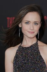 ALEXIS BLEDEL at The Handmaid's Tale Premiere in Hollywood 04/25/2017