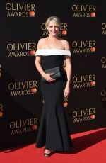 ALI BASTIAN at Olivier Awards in London 04/09/2017