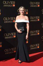 ALI BASTIAN at Olivier Awards in London 04/09/2017