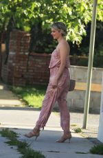 ALI FEDOTOWSKY Out and About in Los Angeles 04/13/2017