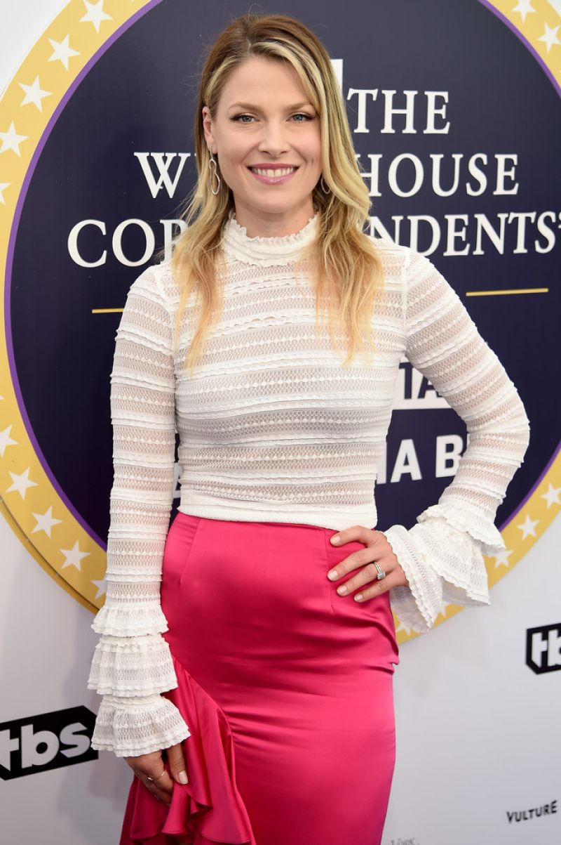 ALI LARTER at Not the White House Correspondents Dinner in Washington 04/29/2017