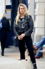 ALICE DELLAL Out and About in London 04/25/2017