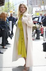 ALICE EVE Arrives at Greenwich Hotel in New York 04/20/2017