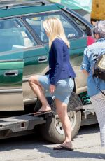 ALICE EVE on the Set of Hannah Royce